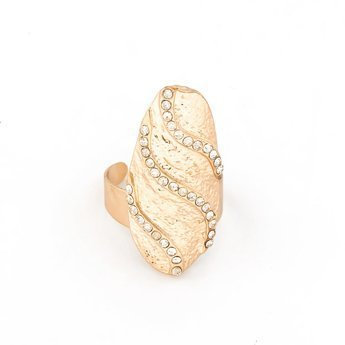 Pierścionek na paznokieć gold