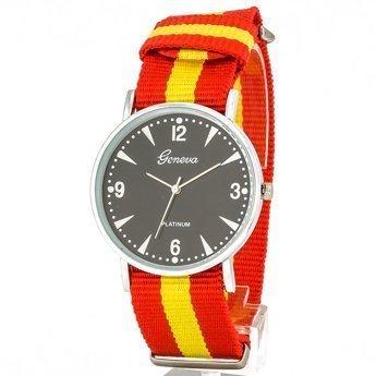 Zegarek nylonowy czerwony